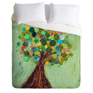 East Urban Home Spring Tree Duvet Cover Set