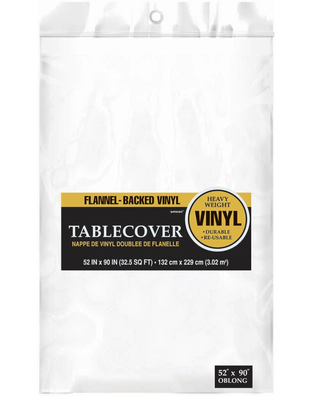 Amscan Everyday Flannel Backed Vinyl Tablecloth Amp Reviews