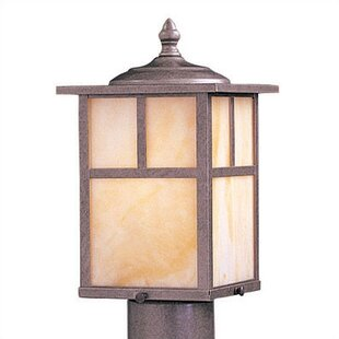 Bargain Bo Aluminum Small Post Lantern By Loon Peak