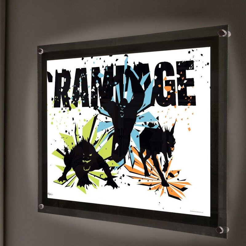 Mightyprint Rampage Movie George Lizzie Ralph Graphic Art