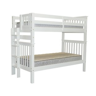 Treva Tall Twin Over Twin Bunk Bed by Harriet Bee Modern