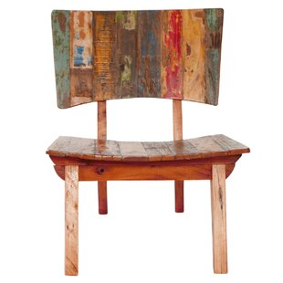 Charmant Oversized Reclaimed Fishing Boat Wood Guest Chair