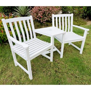 Lenz Adirondack Chair with Table by Breakwater Bay