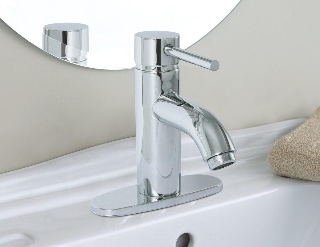 Premier Faucet Essen Lavatory Faucet with Optional Deck Plate ...