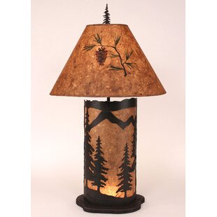 Mountain Scene 33 Table Lamp