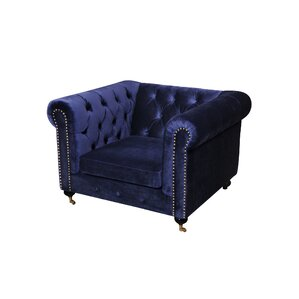 Noelia 1 Seater Chesterfield Sofa by Everly ..