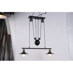 Cully 2-Light Kitchen Island Pendant by Williston Forge