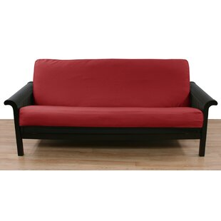 Cranberry Box Cushion Futon Slipcover by Easy Fit