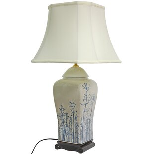 Reviews Vase 26 Table Lamp By Oriental Furniture