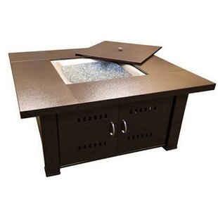 Phat Tommy Steel Propane Fire Pit Table