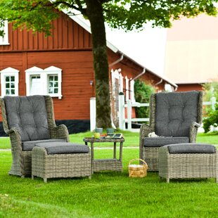 2 Seater Rattan Conversation Set By Sol 72 Outdoor