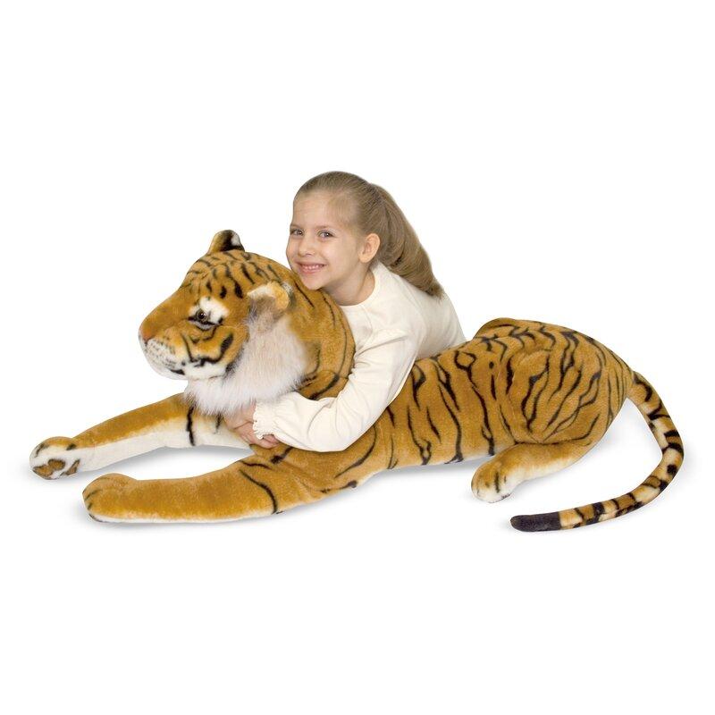 Siberian Tiger Oversized Stuffed Animal Joss Main