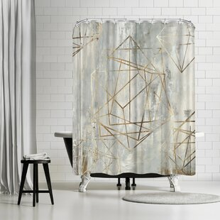 PI Creative Art Elements Single Shower Curtain