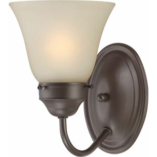 Great Price 1-Light Bathroom Wall Sconce By Volume Lighting