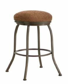 Fiesole 26 Swivel Bar Stool Iron Mountain