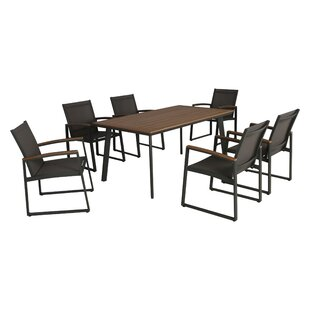 Williston Forge Askew 7 Piece Dining Set