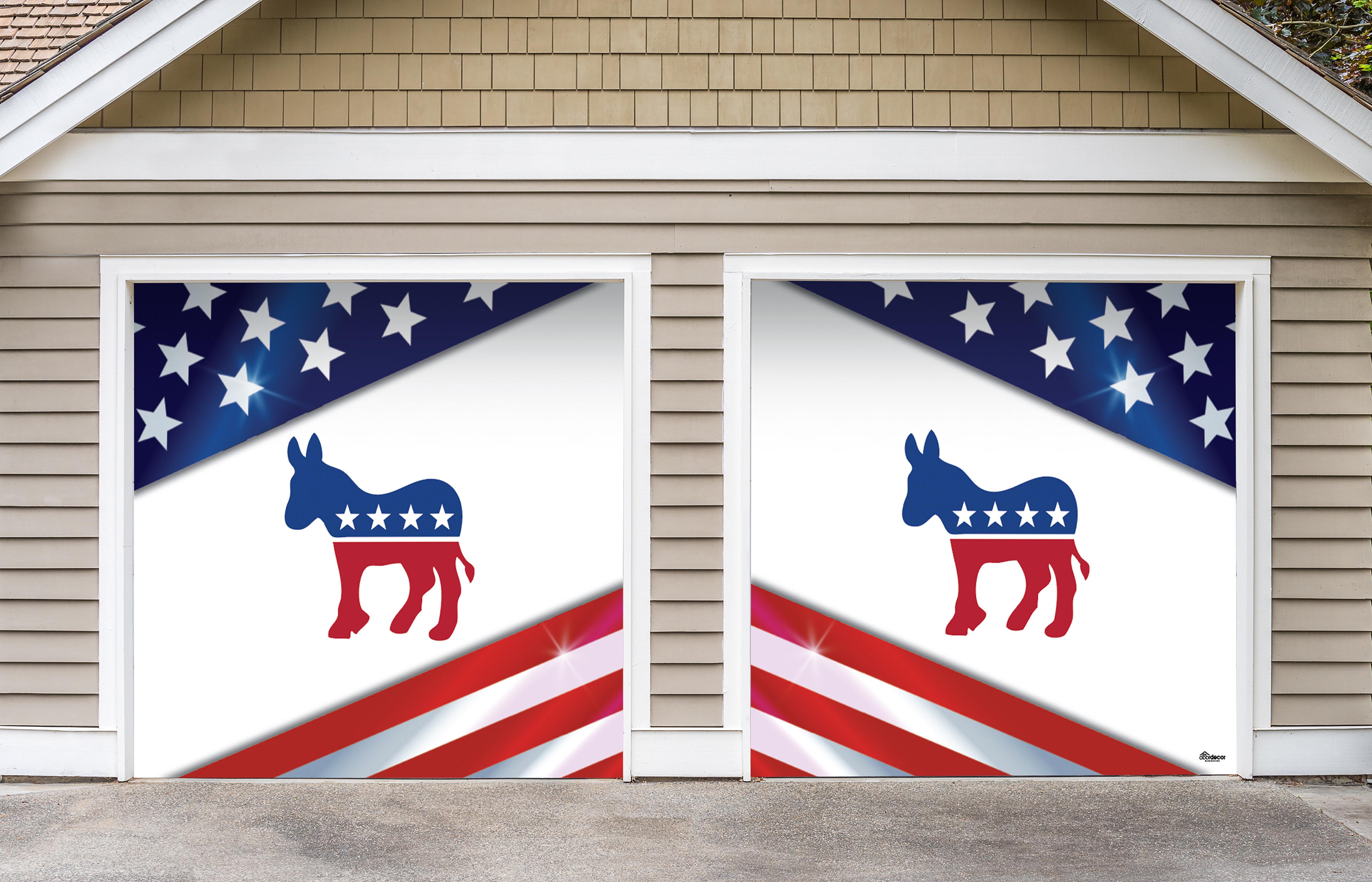 The Holiday Aisle Democratic Door Mural Wayfair