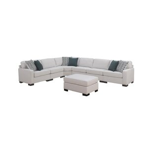 Phaedra Reversible Modular Sectional with Ottoman