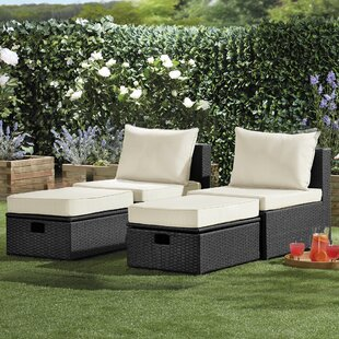 Clarkdale Garden Chair With Cushion (Set Of 2) By Sol 72 Outdoor