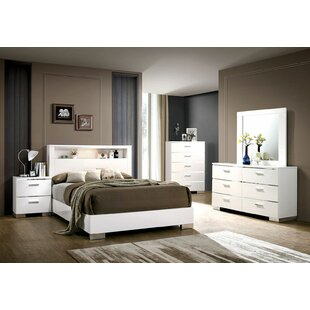 Janice Platform Configurable Bedroom Set