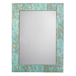 World Menagerie Rectangle Wall Mounted Bathroom/Vanity Wall Mirror