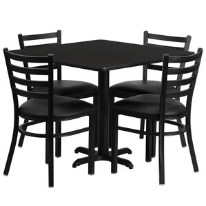 Red Barrel Studio Jannet 5 Piece Dining Set