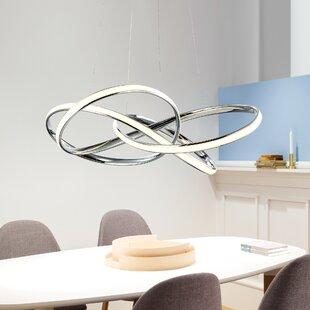 Orren Ellis Blue Hill 1-Light LED Geometric Chandelier