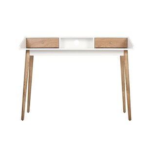 Lilou 2 Drawer Writing Desk by Elle Decor Best #1