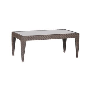 Athena Wicker Coffee Table