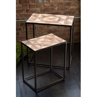 Cairns Wooden Nesting Tables (Set of 2) by Union Rustic