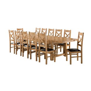 Apollonia Large Extending Dining Set With 12 Chairs By Gracie Oaks