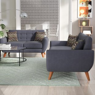 Compare & Buy Wooten 2 Piece Living Room Set by Langley Street Reviews (2019) & Buyer's Guide