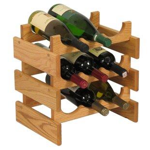Dakota 9 Bottle Tabletop Wine Rack by Woo..