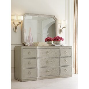 Cinema 9 Drawer Dresser with Mirror