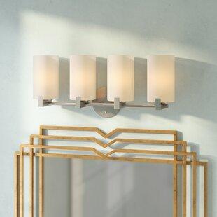 Affordable Price Kersey 4-Light Vanity Light By Mercer41