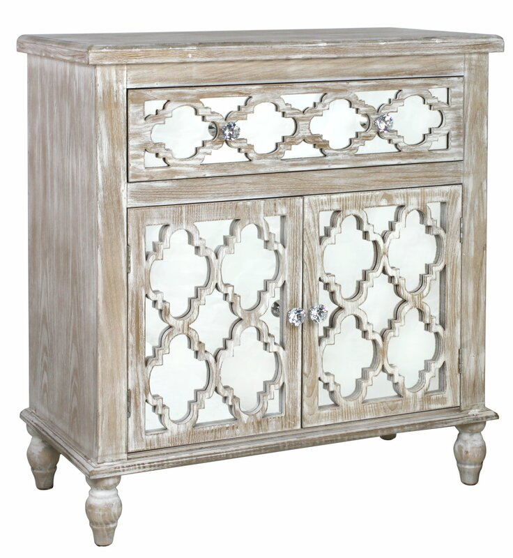 House Additions Cancun Beach 1 Drawer 2 Door Cabinet & Reviews ...