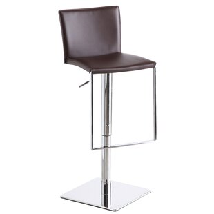 Ryan Adjustable Height Swivel Bar Stool Orren Ellis