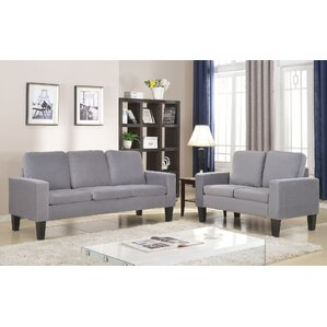 Bibbs 2 Piece Living Room Set