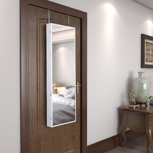 Ford Wall Mounted Jewelry Armoire with Mirror