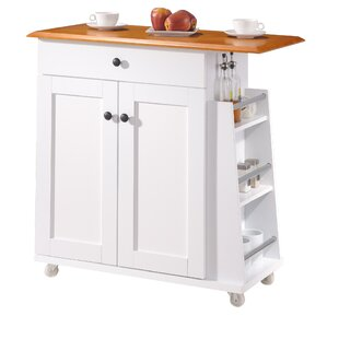 Lucrezia Kitchen Cart Andover Mills