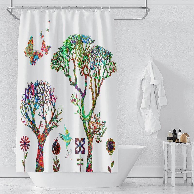 World Menagerie Rida Single Shower Curtain Wayfair