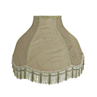 Transitional Scallop 17 Fabric Bell Lamp Shade