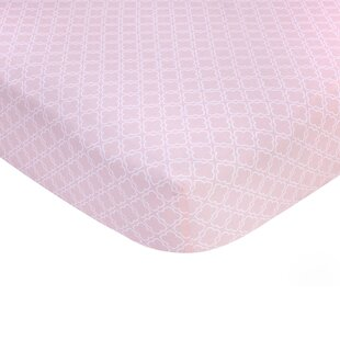 Read Reviews Trellis Print Sateen Crib Fitted Sheet By Carter's®