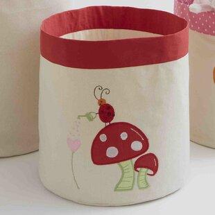 Alphabet Adventure Mushroom Toy Storage Bin