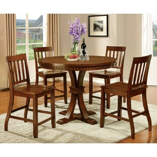 Florencio 5 Piece Pub Table Set Andrew Home Studio