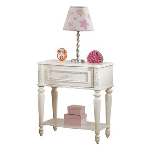 Read Reviews Bo Ivory 1 Drawer Nightstand By Rosdorf Park