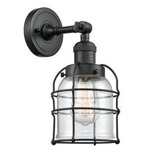 Gasper 1-Light Bath Sconce by Breakwater Bay