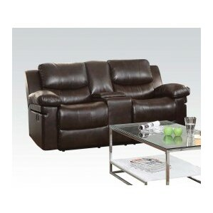 Xenos Motion Console Reclining Sofa by ACME ..