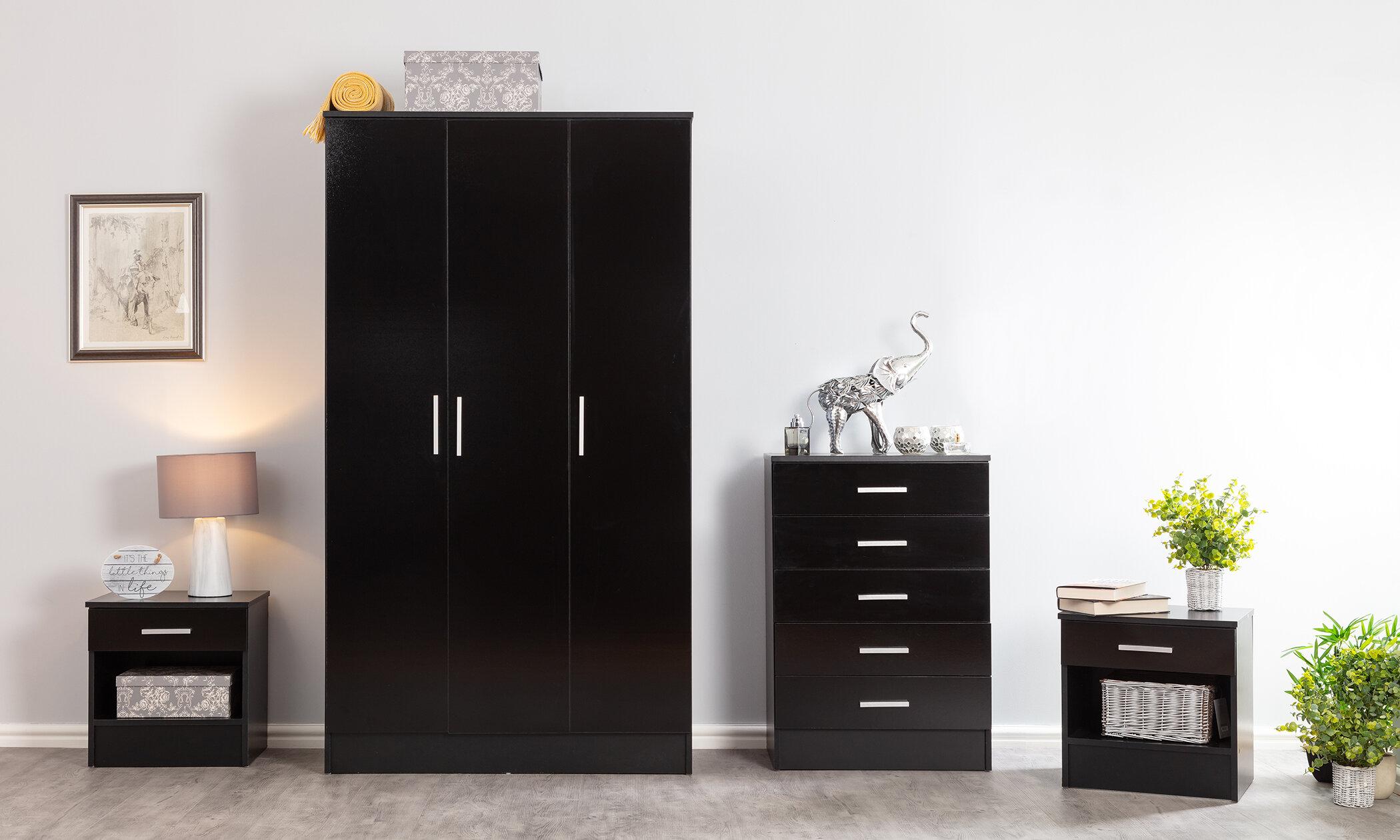 17 Stories Tarbox 4 Piece Bedroom Set Reviews Wayfair Co Uk
