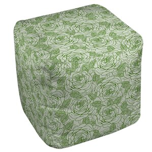 Rose Tonic Ottoman by Manual Woodworkers & Weavers
